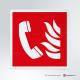 Cartello Telefono d'emergenza antincendio F006
