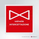 Adesivo Valvola intercettazione