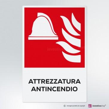 Cartello Attrezzatura antincendio