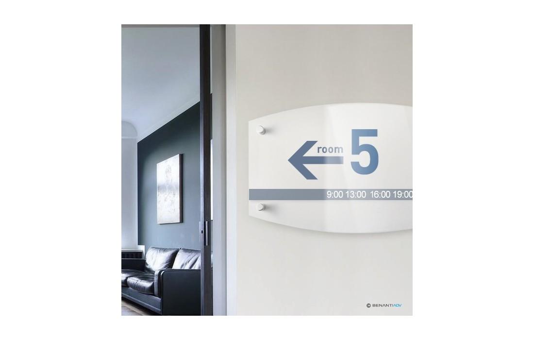 Targhe Ufficio Personalizzate : Targhe stile contemporanea targhe plexiglass