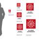 Cartello Allarme antincendio: misure adesivo / alluminio