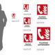 Cartello Telefono antincendio: misure adesivo / alluminio