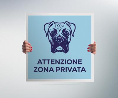 Cartelli attenti al cane