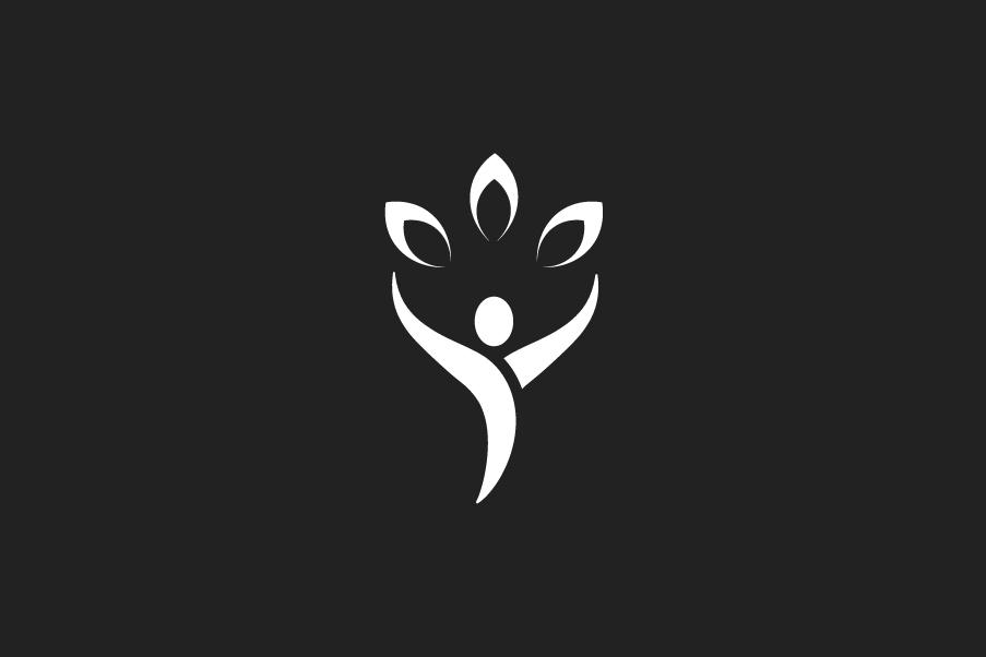 Esempio di colore per il logo di un fisioterapista nero