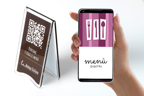 Menù digitale con Qr Code