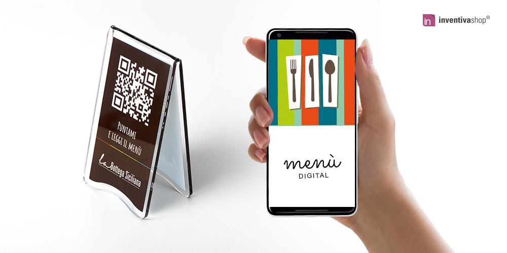 Menù digitale Qr code