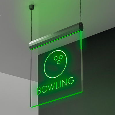 Insegna Bowling