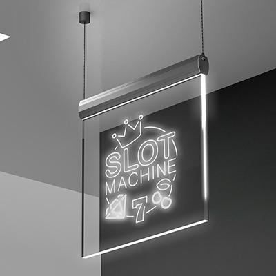 Insegna Slot Machine 7