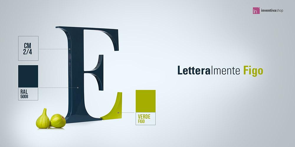 Lettere sagomate per insegne e pareti
