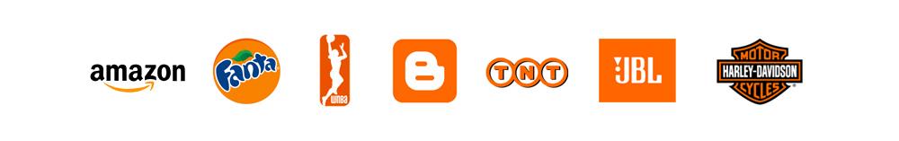 Colore logo arancione
