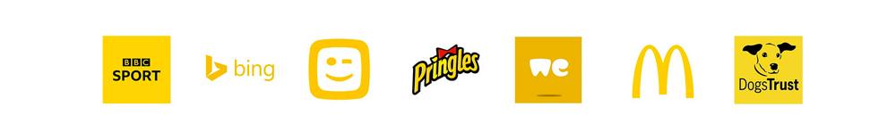 Logo colore giallo