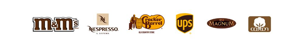Logo colore marrone