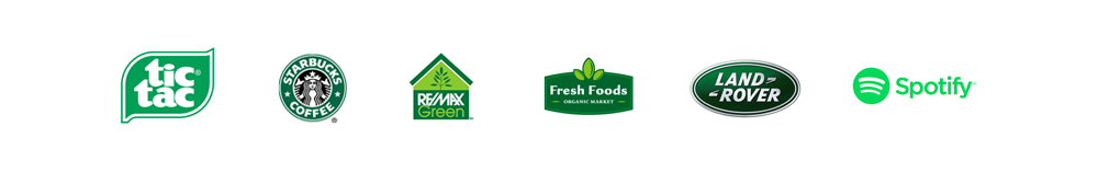 Logo colore verde