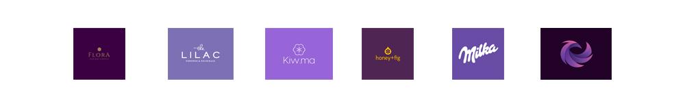 Logo colore viola