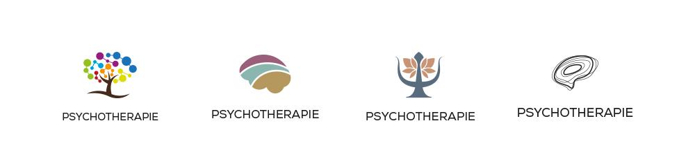 Forme naturali di un logo per studio di psicologia
