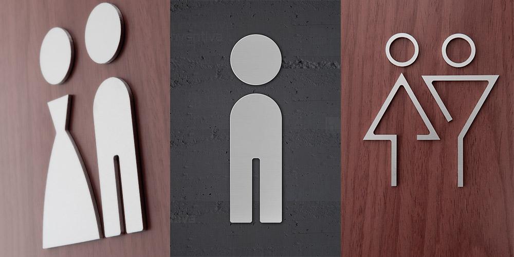 Cartelli toilette - Segnaletica ristorante