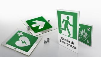 Cartelli uscita di emergenza