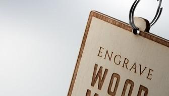 Portachiavi Wood-Mark