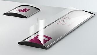 Segnaletica alluminio convesso