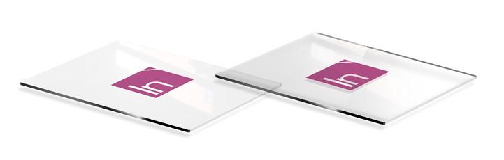 Insegne plexiglass fondo pieno parziale