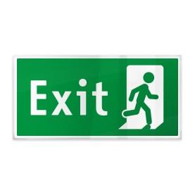 Exit con omino destra b