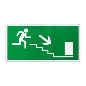 Uscita scale di emergenza dx giù