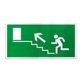 Uscita scale di emergenza sx sù