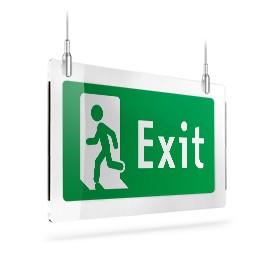 Exit con omino sx B