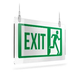 Exit con omino dx A