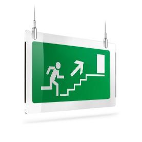 Uscita scale di emergenza dx sù