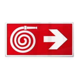 Idrante con freccia dx