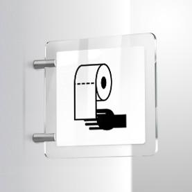 Carta mani bagno