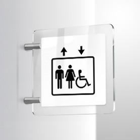 Ascensore Standard uomo donna e handicap