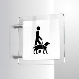 Accesso cani da assistenza