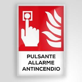 Pulsante allarme antincendio F005-ISO