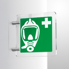 Maschera ossigeno E029