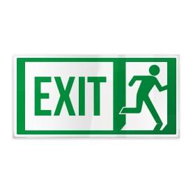 Exit con omino destra