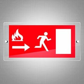 Uscita di sicurezza fuoco dx
