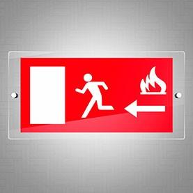 Uscita di sicurezza fuoco sx