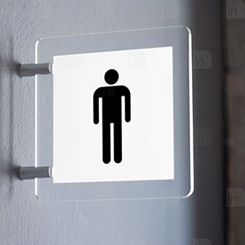 Toilette Uomo Bianco