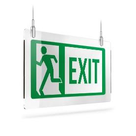 Exit con omino sx A