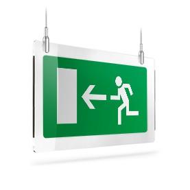 Uscita porta di emergenza sx