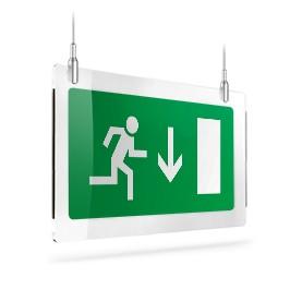 Uscita porta di emergenza giù