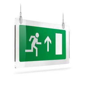 Uscita porta di emergenza sù